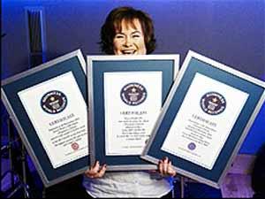 Susan Boyle conseguiu três recordes com álbum de estreia