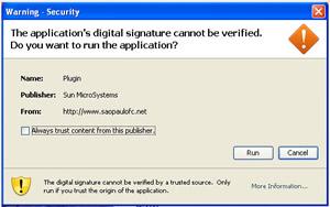 'Recurso' do Java permite execução de aplicativo em um clique, quando download normal de arquivo executável exige no mínimo dois.