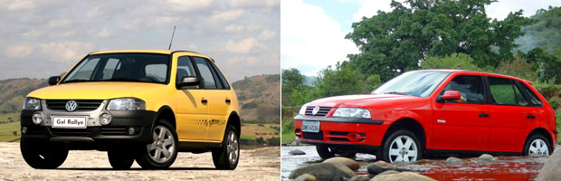 Linha do tempo Gol Rallye