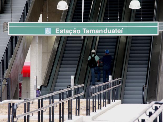 Estação Tamanduateí será inaugurada nesta terça