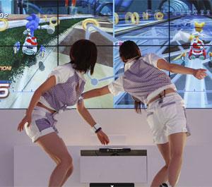 Controles sensíveis a movimento como o Kinect ajudaram a atrair mais de 207 mil pessoas.