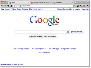 Navegador Google Chrome.