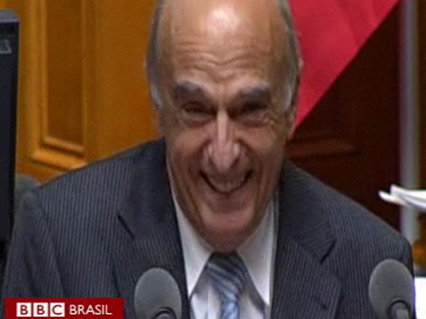 O ministro