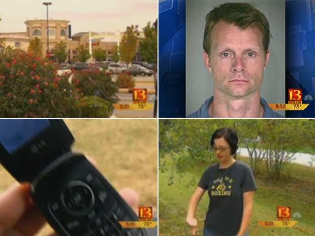 Adam Mittler foi preso ao tirar fotos de jovem em provador de roupa.