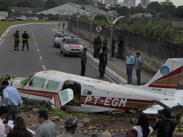 Avião  caiu próximo ao Aeroporto Brigadeiro Protásio de Oliveira, em Belém