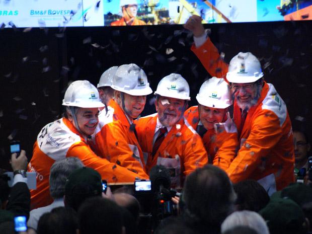 Petrobras capitalização