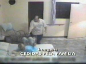 Família gravou agressões a idoso