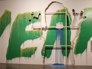 'Yeah', obra do coletivo japonês Chim Pom, que usa elementos da cultura jovem de Tóquio e da street art