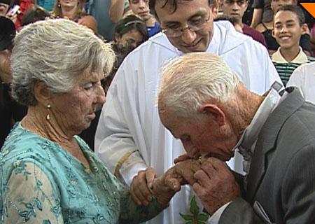 Após os 80 anos, casal decide se unir na Zona da Mata.