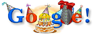 Aniversário do Google, 2008