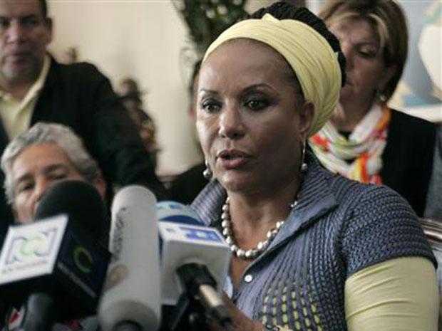 A senadora Piedad Córdoba em março de 2010.