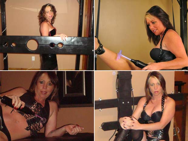 Kristal Ann Taylor mantinha um calabouço de dominação sexual em casa.