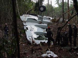 Avião da Gol caiu em área de mata fechada, em setembro de 2006
