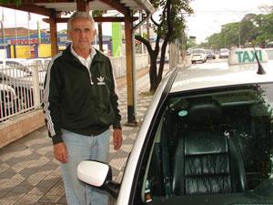 Taxista Ademir Antônio Romano