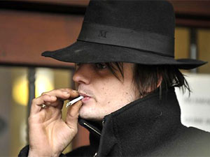 O músico britânico Pete Doherty (Foto: AP)