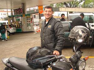 Motoboy Nivaldo Moreira