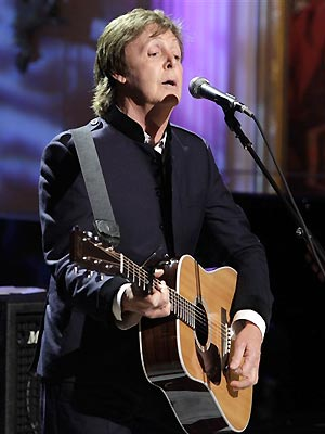 O ex-beatle Paul McCartney