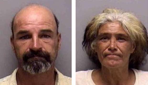 George Pomfret e Brenda Prothero foram flagrados em ato sexual.