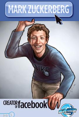 Capa da HQ de Mark Zuckerberg, criador do Facebook