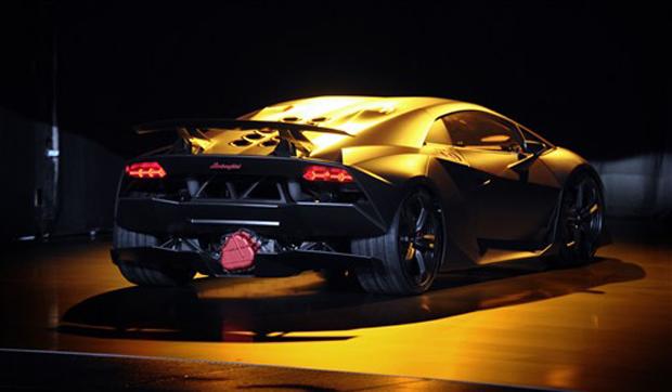 auto esporte lamborghini revela prototipo de carro mais leve  rapido da marca