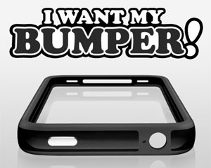 Site I want my bumper pede que a apple dê de graça capinha do iphone 4