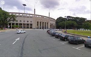 Estádio do Pacembu, em São Paulo.