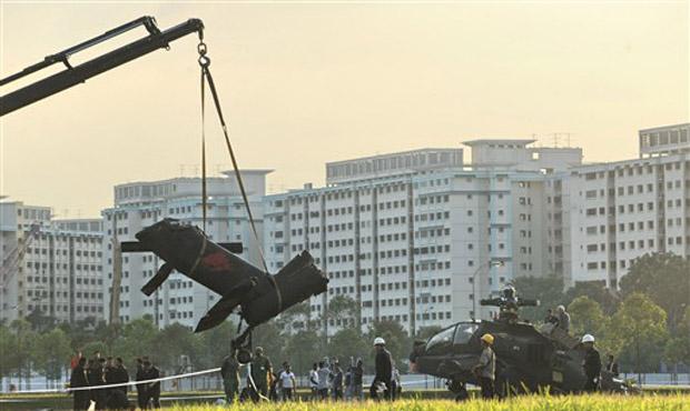 Ninguém se machucou, segundo o ministério da Defesa.