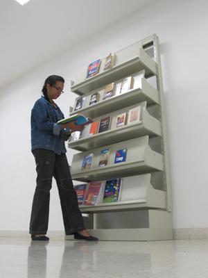 Ponto de BookCrossing na Biblioteca Mário de Andrade