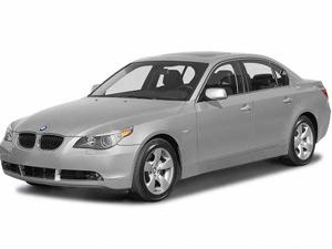 BMW 550i recall