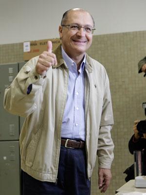 Geraldo Alckmin (PSDB), governador eleito de São Paulo.