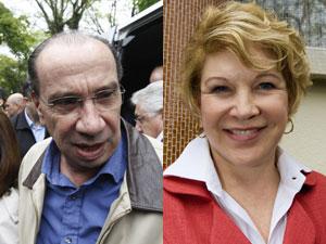 Aloysio Nunes (PSDB) e Marta Suplicy (PT), senadores eleitos pelo estado de São Paulo
