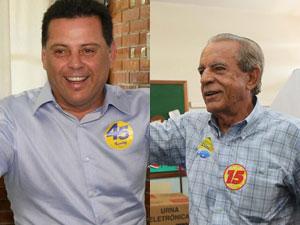 Marconi Perillo (PSDB) e Íris Rezende (PMDB), candidatos ao segundo turno do governo de Goiás.