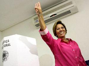 Rosalba Ciarlini (DEM) é eleita governadora do Rio Grande do Norte.