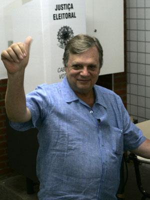 O senador do Ceará Tasso Jereissati (PSDB), não foi reeleito.