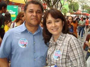 A atriz Myriam Rios, eleita deputada estadual no Rio de Janeiro pelo PDT