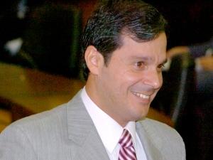 José Reguffe (PDT) em foto no plenário da Câmara Legislativa do Distrito Federal (CLDF) .