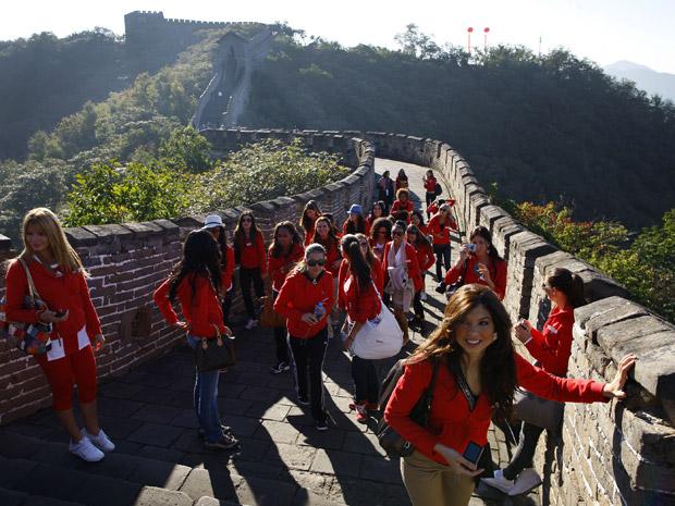 A paraense Kamilla vai disputar o título de Miss Mundo com representantes de outros 119 países, na ilha chinesa de Sanya.