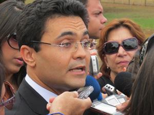 Advogado Marcelo Leal, que defende Israel e Saulo Guerra