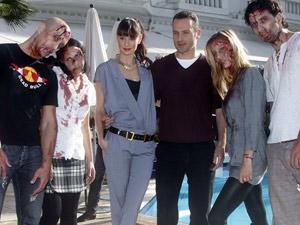 Elenco promove série de TV 'The walking dead' em Cannes