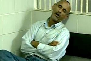 Ex-prefeito de Raposos, João Carlos da Aparecida, em delegacia quando foi detido com crack em BH