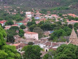 Cidade de Grão Mogol (MG).