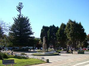 Praça em Tatuí (SP).