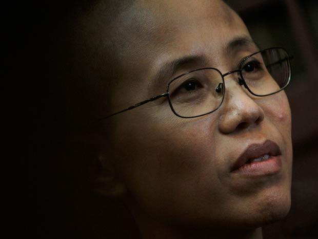 Liu Xia, mulher do dissidente chinês Liu Xiaobo, que ganhou o Nobel da Paz de 2010
