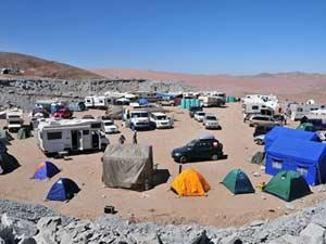 Acampamento Chile