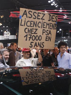Manifestação Salão de paris