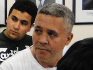 Marcos Aparecido dos Santos, durante audiência em Contagem