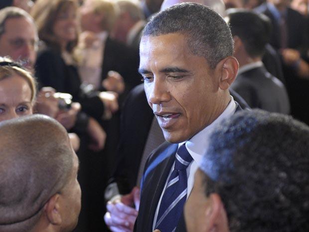 O presidente dos EUA, Barack Obama, faz campanha para candidato democrata nesta quinta-feira (7) em Chicago.