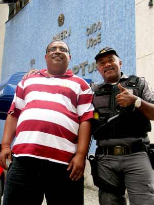 Policiais e compositores - Luiz César Santana e Luiz Cardoso Cruz