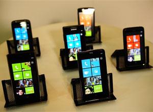 Aparelhos lançados com o sistema Windows Phone 7