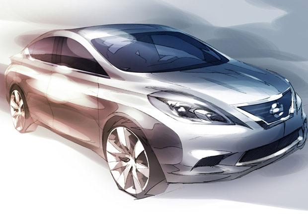 Novo Nissan Tiida sedã deve chegar ao mercado em 2012